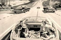 Googie cars of the future